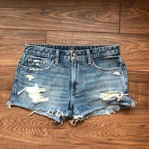 Jean shorts!!